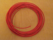Stranded equipment wire red x 5 metres  32/0.2mm for model railways DCC WIRE