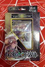 Force of Will Knights of the Round Table LIGHT STARTER DECK FACTORY SEALED ENG