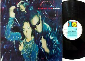 Inner City – Fire Vinyl LP Album 1990 10 Records Original Australia – DIX 99
