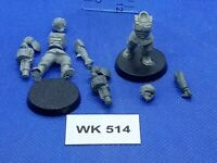 WH40K - Imperial Guard - Cadian Grenade Launchers x2 - WK514