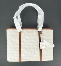 Michael Kors Sady Large Multifunctional Top Zip Tote Vanilla MK Bag NEW