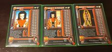 Dragon Ball Z Android 17 Set Alternate Edition Levels 1-3 Limited DBZ DBGT CCG