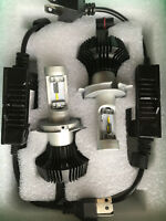 Led Headlight Triumph Street Triple R RS S Dual H4 H/L Kit  Headlamp Conversion