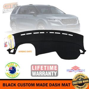 Black Dash mat for Kia Carnival KA4 Platinum SLi S Models 9/2020-22 DM1608 MY21