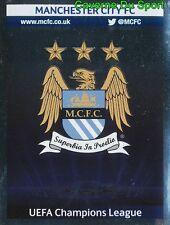 260 LOGO ENGLAND MANCHESTER CITY FC STICKER CHAMPIONS LEAGUE 2014 PANINI