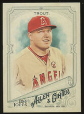 2018 Allen and Ginter BB #1-200 - You Pick - Complete Your Set (F15)
