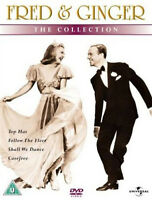 FRED AND GINGER COLLECTION VOL 1 DVD Fred Astaire Ginger Rogers UK Rele New R2
