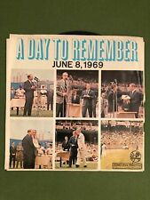 JUNE 8, 1969   MICKEY MANTLE DAY NEW YORK YANKEES   A DAY TO REMEMBER    RECORD
