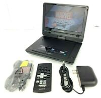 "Sony DVP-FX930 9"" Portable CD/ DVD Player Tested W/ Accessories"