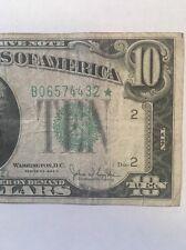 1934C $10 New York ***Star***  RARE Star Note