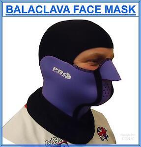 Proline Balaclava Face Mask Neoprene Lycra Outdoor Sport Protection Head Wear