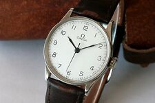 RARE VINTAGE 1938/39 OMEGA MEDICUS STAINLESS STEEL - CAL. 23.4 SC