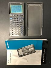 TI-82 Graphing Calculator W Guidebook Texas Instruments Math Science Junior High