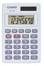 Casio HS-4G Mini Handheld Solar 8 Digit Calculator, Pocket Size