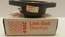 "LINK-BELT FLANGE BEARING, FX3-U220H, SIZE 1 1/4, C, 1 3/4"" DEPTH, 6 1/4"" ACROSS"