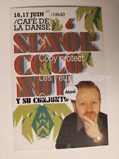 ATOM HEART COMBO MERENGUE CHILI SENOR COCONUT CAFE DE LA DANSE CONCERT flyer