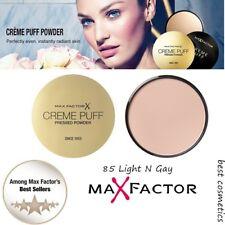 New Max Factor Creme Puff Pressed Face Powder Makeup 85 Light N Gay -  21g/0.7oz