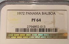 # BKB 102 ) - PANAMA BALBOA 1972  - NGC PF64
