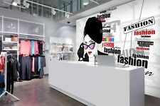 3D Fashion Clothing I116 Business Wallpaper Wall Mural Self-adhesive Commerce An