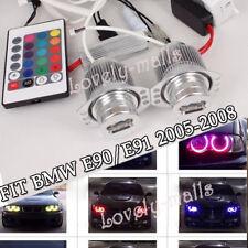 RGB Halo Ring LED Angel Eyes Light Led Bulbs for BMW E90 328i 335i 325i 330i 335
