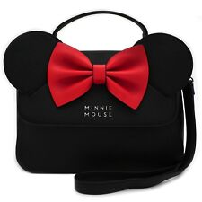 Loungefly Disney Minnie Mouse Crossbody With Ears Bow Purse Handbag WDTB1091