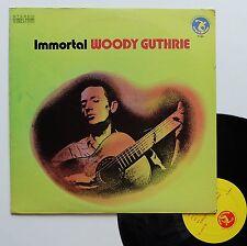 "Vinyle 33T Woody Guthrie  ""Immortal"""