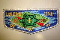 OA UNAMI LODGE 1 CRADLE LIBERTY COUNCIL SCOUT PATCH 1915 TURTLE SMY SERVICE FLAP