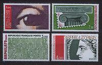 FRANCIA/FRANCE 1975 MNH SC.1425/1428 Arphila philatelic Exhbition