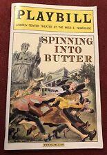 Spinning Into Butter Playbill
