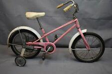 "1985 Schwinn Pixie 16"" Kids Bike Small SS Single Speed Coaster Steel USA Charity"