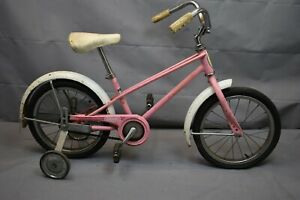 "Schwinn Pixie 16"" Kids Bike Small SS Single Speed 1985 Coaster Steel USA Charity"