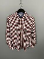 TED BAKER Shirt - Size 4 Large - Check - Great Condition - Men's