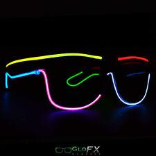 EL Wire Glasses Neon Fashion USA best high quality GLOFX BRAND multi