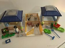 playmobil clinica veterinaria