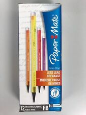 Paper Mate 12 Stück Feinminenstift Non-Stop HB 0,7 Bleistift Druckbleistift LS1