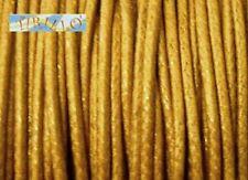 BIGIOTTERIA - 20 metri filo cerato marrone chiaro - 0,5mm
