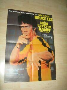 Bruce Lee-Mein Letzter Kampf-Game of Death Orginal A1 Kinoplakat
