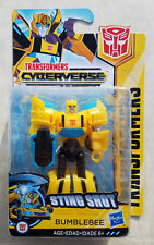 Transformers Cyberverse Bumblebee Scout Action Figure Sting Shot 2018 New