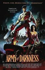 """002 Army Of Darkness Movie Poster Evil Dead Ii Silk Wall Vintage 24X32"""""""
