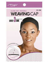 magic collection expandable invisible  close top weaving cap 2266