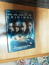 CRIMINAL • New* (plus Digital Copy Included) Sealed