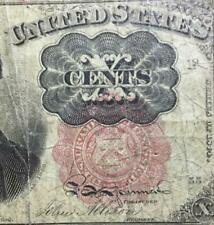 "New Listing1874 Us Fractional Currency ""Ten Cents"" Us Currency! Rough! Old Us Currency!"