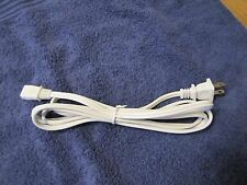 "Replacement Power Cord For ROBERTS Reel to Reel 2 Round Prongs ""AC POWER"" Socket"