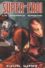 SUPER EROI LE GRANDI SAGHE FUMETTI COMICS - CIVIL WAR N° 1