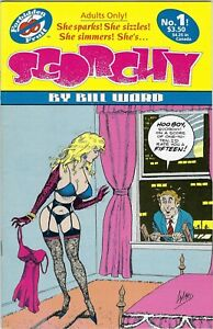Scorchy #1 , 1992   Bill Ward    GREAT Good Girl Art   8.0 VF Adults only