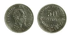 pcc1839_10) Regno Vittorio Emanuele II  50 centesimi 1863 - Mi