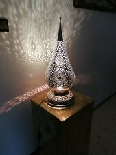 Moroccan Table lamp night light Handmade brass decoration lighting Lampshade Fez