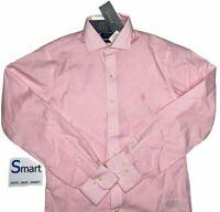 $80 NWT SIZES S-L MEN Polo Ralph Lauren Slim Fit Button Down Dress Shirt LS Pony