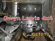 Land Rover Defender 90 110 130 Rear Cross Member GL1013 Mud Shield Mud Flap