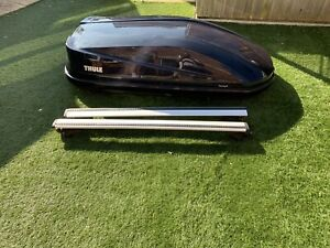 Thule Touring M Roof Box with Fittings Bars And Clamps